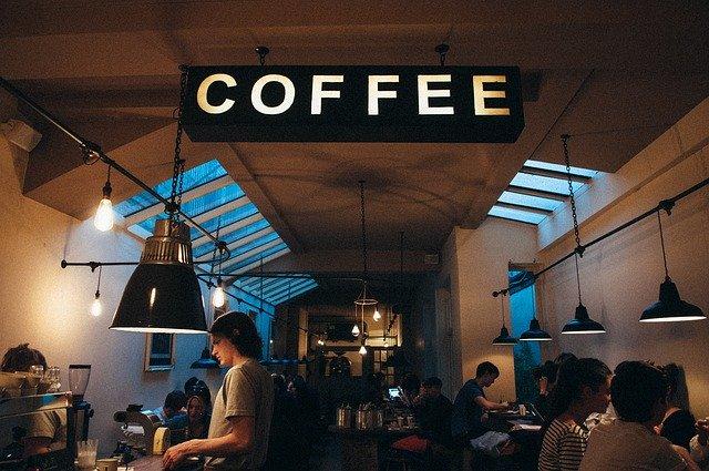 カフェの中の様子